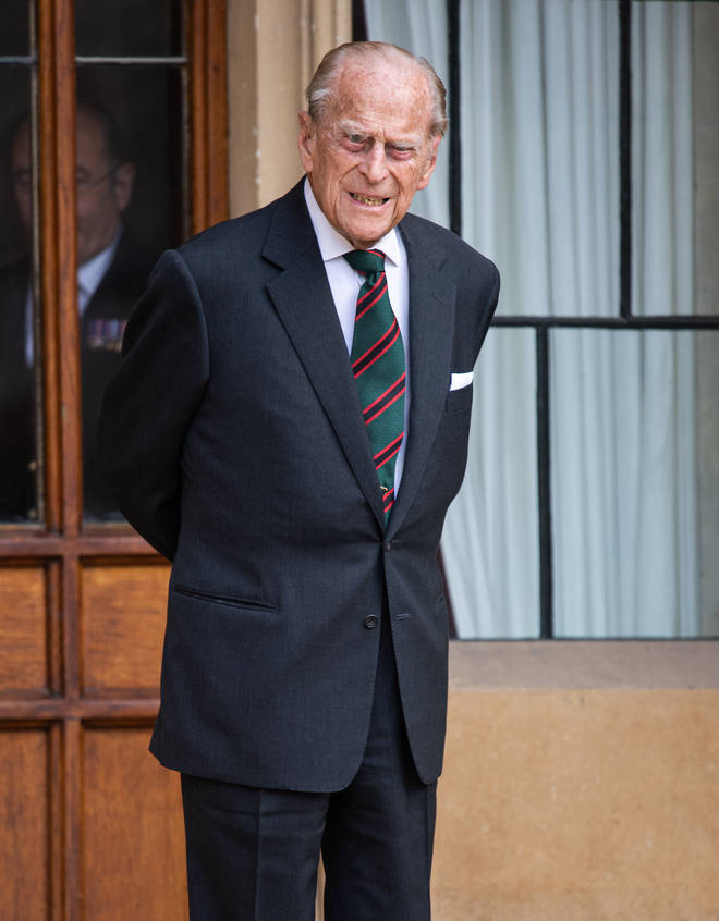 Prince Philip was taken to another hospital earlier this week via ambulance