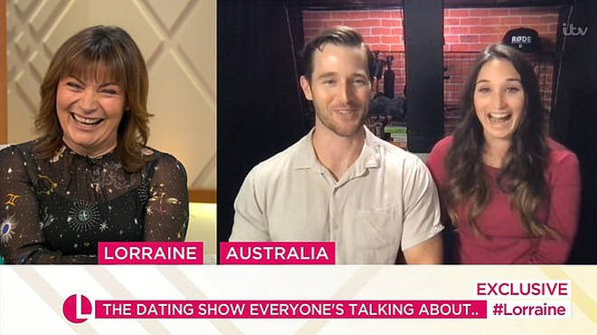 MAFS star Matthew Bennett chatted to Lorraine from Australia
