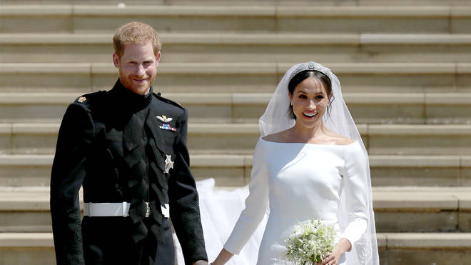 Harry and Meghan got married in May 2018