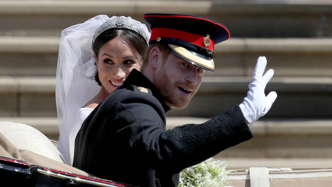 Harry and Meghan's wedding took place at Windsor Castle