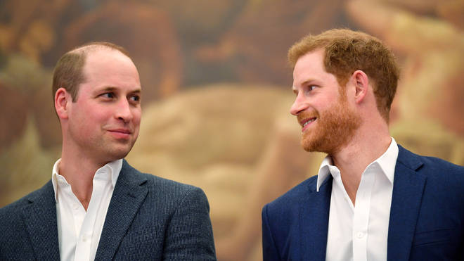 Prince William and Prince Harry is reportedly being 'kept in the dark' about the highly-anticipated Oprah interview