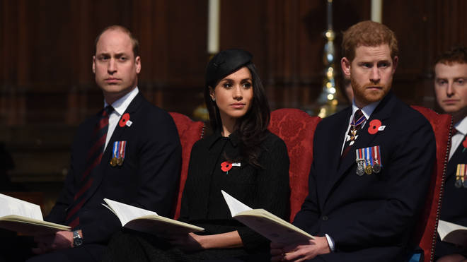 Prince Harry was reportedly upset that his brother hadn't done enough to welcome Meghan Markle into the family