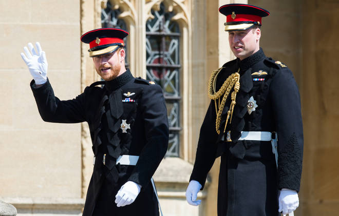 Prince Harry appeared to confirm a rift with his brother during an interview for an ITV documentary