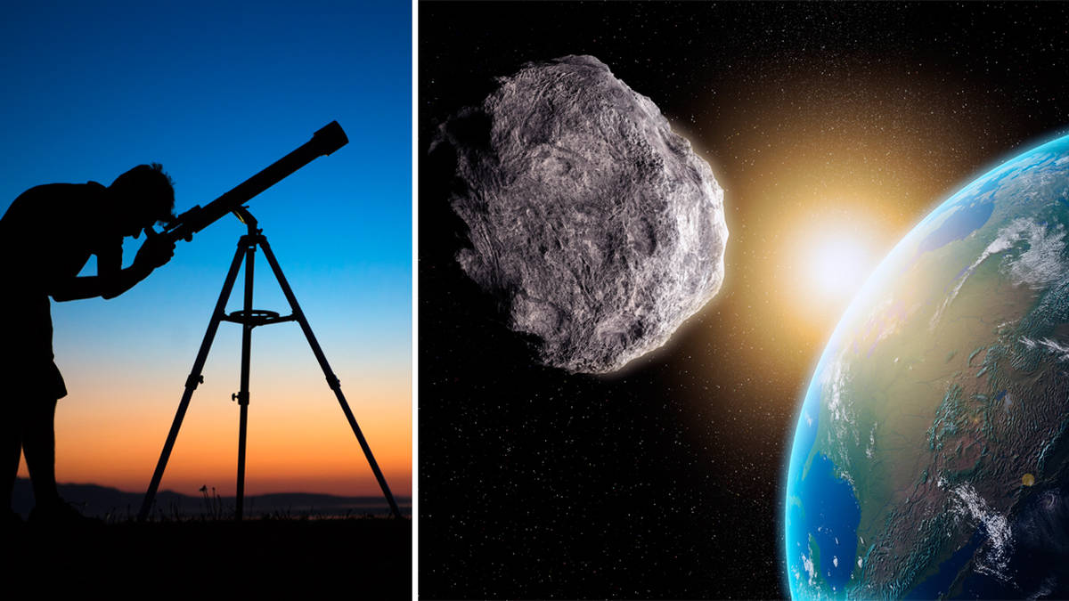 Asteroid dubbed 'God of Chaos' to fly past earth tonight - here's how you can see it