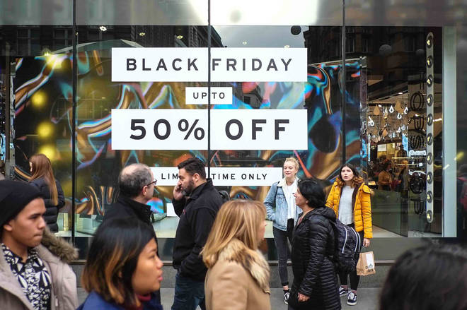 When Is Black Friday 2018 The Uk Date For The Big Shopping Day Heart