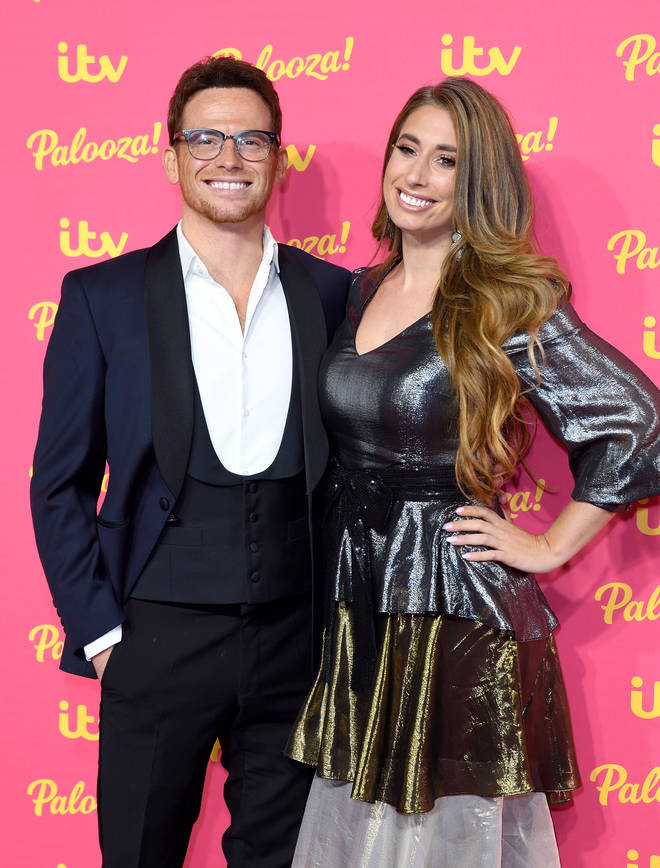 Stacey Solomon and Joe Swash got engaged last Christmas