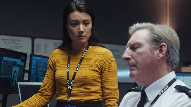 Rosa Escoda plays Amanda Yao in Line of Duty