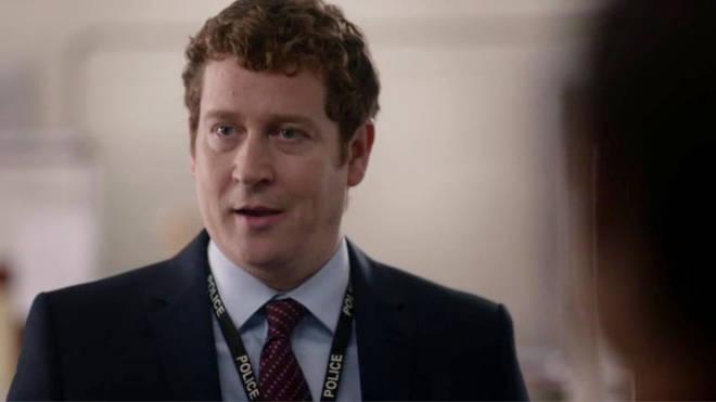 Nigel Boyle plays DCI Ian Buckells in Line of Duty