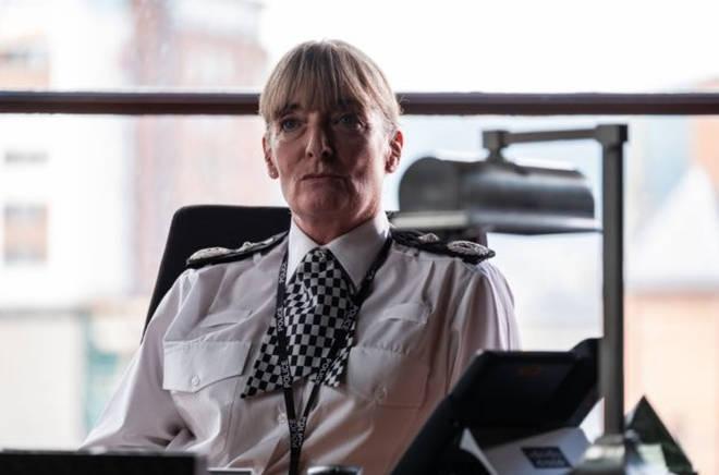 Elizabeth Rider plays Deputy Chief Constable Andrea Wise in Line of Duty