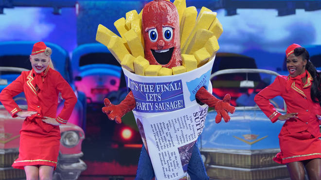 Sausage was crowned winner of The Masked Singer earlier this year