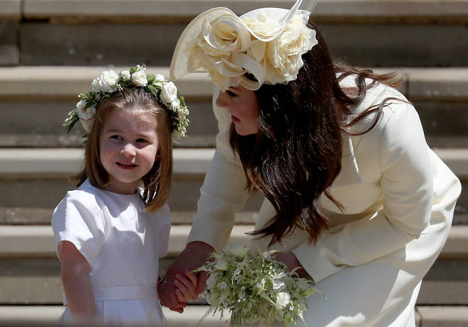 Kate and Meghan's fallout was regarding the flower girl dresses at the royal wedding in 2018