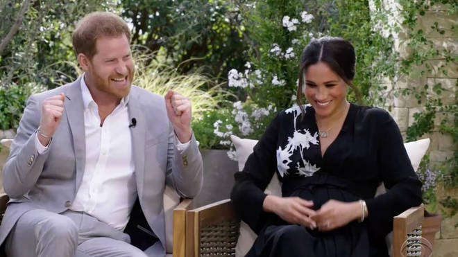 Prince Harry and Meghan Markle were delighted to announce the news