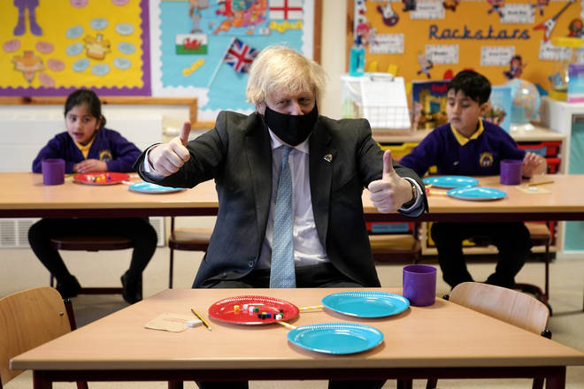 All school children will be going back to classrooms this week in England