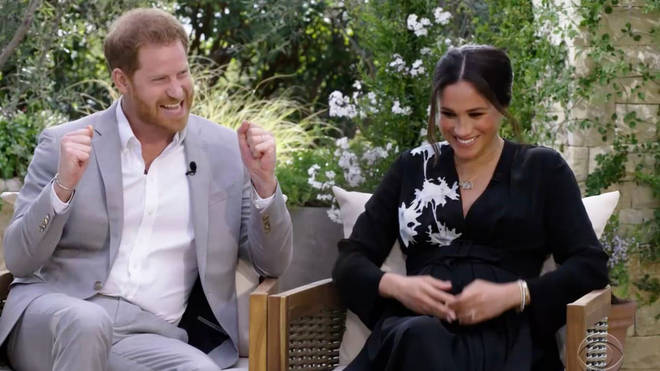 Meghan and Harry got married alone in their back garden