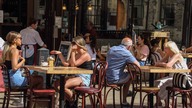 Pubs without beer gardens will be allowed to let customers enjoy a drink in their car parks
