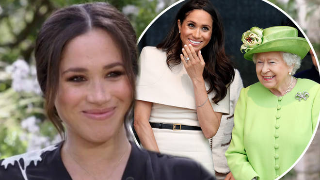 Meghan Markle said she loved spending time with the Queen
