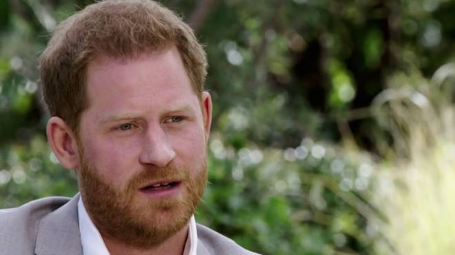 Prince Harry said meeting Meghan Markle allowed him to break free from the royals