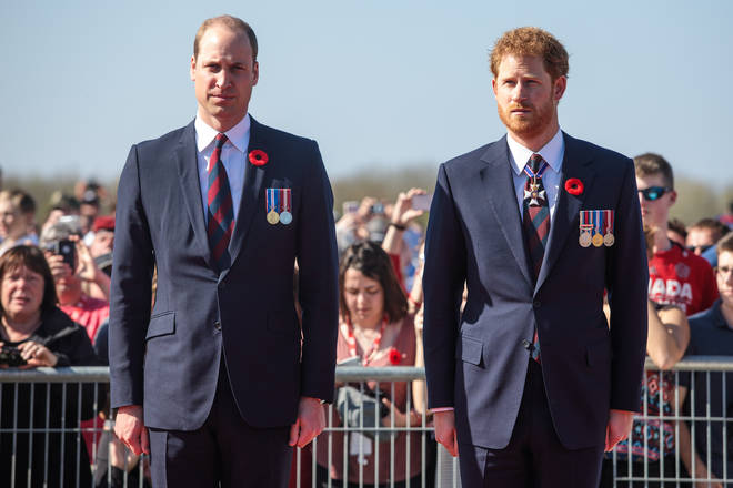 Prince Harry said he feels 'compassion' for his brother and his father as they are 'trapped'