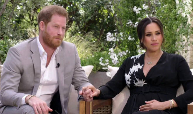 Prince Harry told Oprah he felt 'let down' by his father Prince Charles