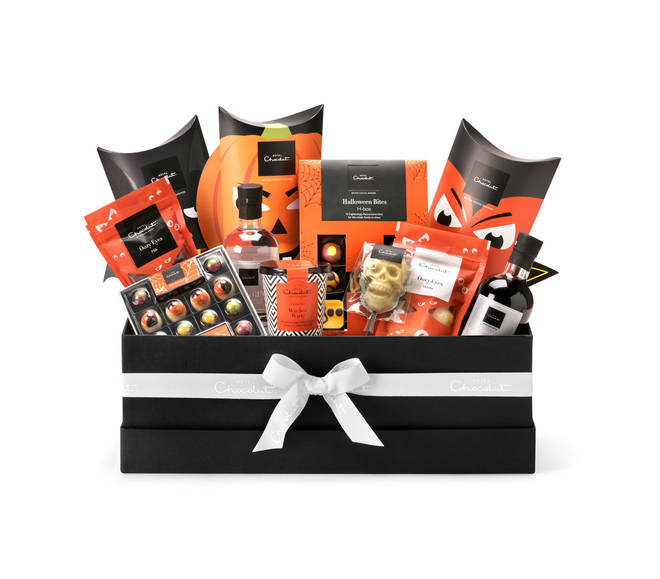 Hotel Chocolat have brought out a hamper ideal for a spooky night in