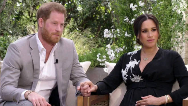 Meghan and Harry said their friend's help gave them 'breathing room'