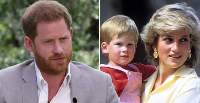 Much much inheritance did Harry receive from his mother?