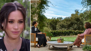 Where was the Harry and Meghan Oprah interview filmed?