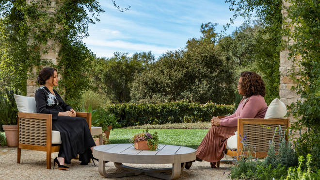 It is thought that the interview was filmed at Gayle King's house, though this is unconfirmed