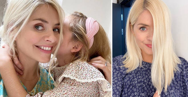 Holly shared a rare snap of her daughter Belle on Instagram