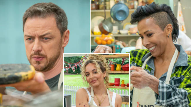The full line up of the Great British Bake Off Celebrity special