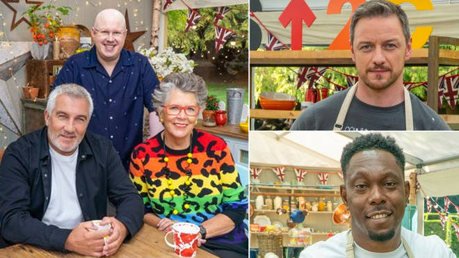 Celebrity Bake Off 2021 is airing this March