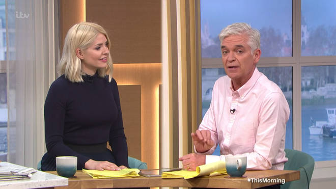 Phillip Schofield opened up about getting his Covid jab on This Morning