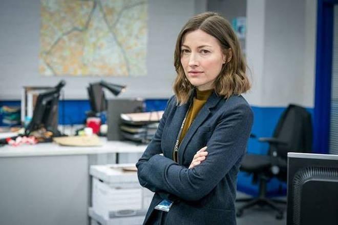 Kelly Macdonald plays DCI Joanne Davidson in Line of Duty