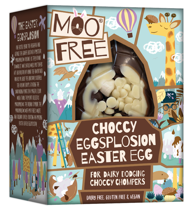 Moo Free sell a range of affordable Easter Eggs