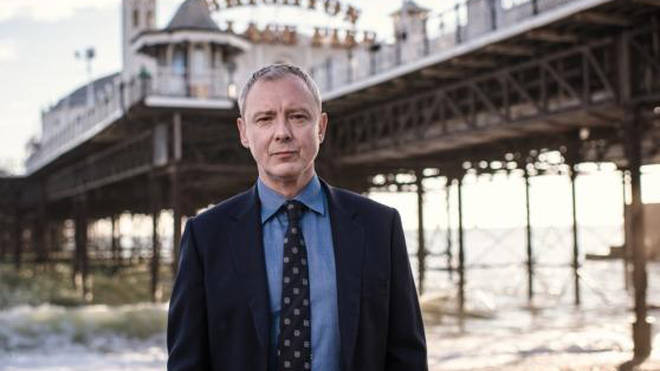 John Simm is starring as Detective Superintendent Roy Grace