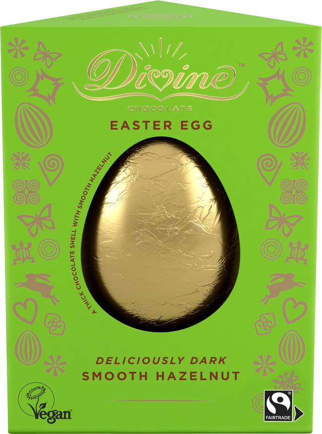 Divine's Dark & Smooth Hazelnut egg