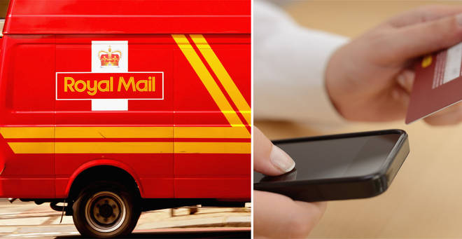 A warning has been issued over a Royal Mail scam (stock images)