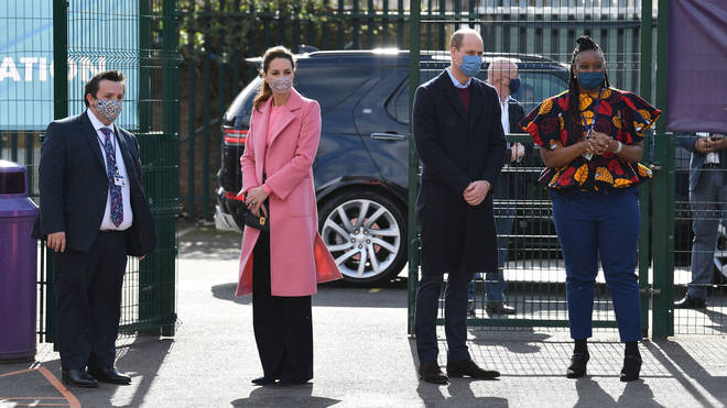Prince William told the press he hadn't spoken to his brother yet