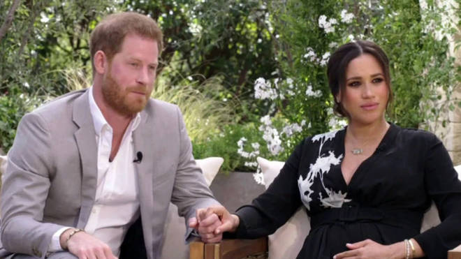 Meghan and Harry's shocking interview with Oprah Winfrey aired in the UK on Monday