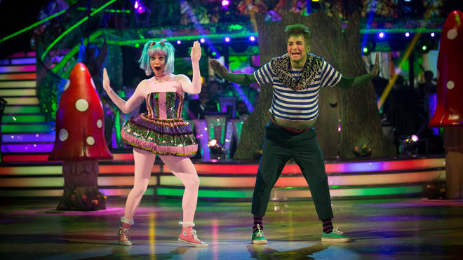 Ashley Roberts danced to Witch Doctor with Pasha Kovalev