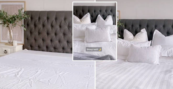 The mum shared some genius tips to keep your bed looking fresh