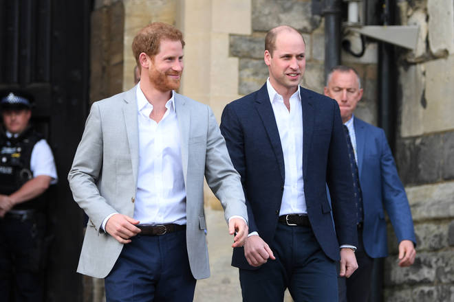 Prince Harry and Prince William have reportedly barley spoken in the past year