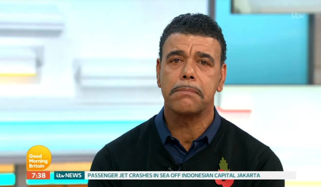 Chris Kamara pays tribute to the victims in the Leicester helicopter crash