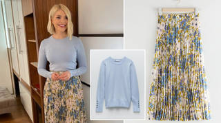 Holly Willoughby is wearing an outfit from the high street today