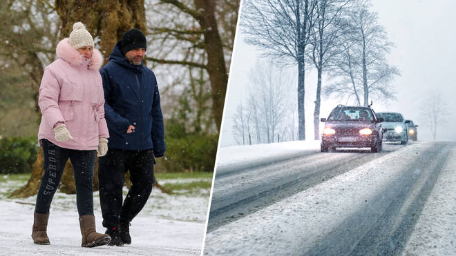 The weather is taking a turn for the worse in the UK