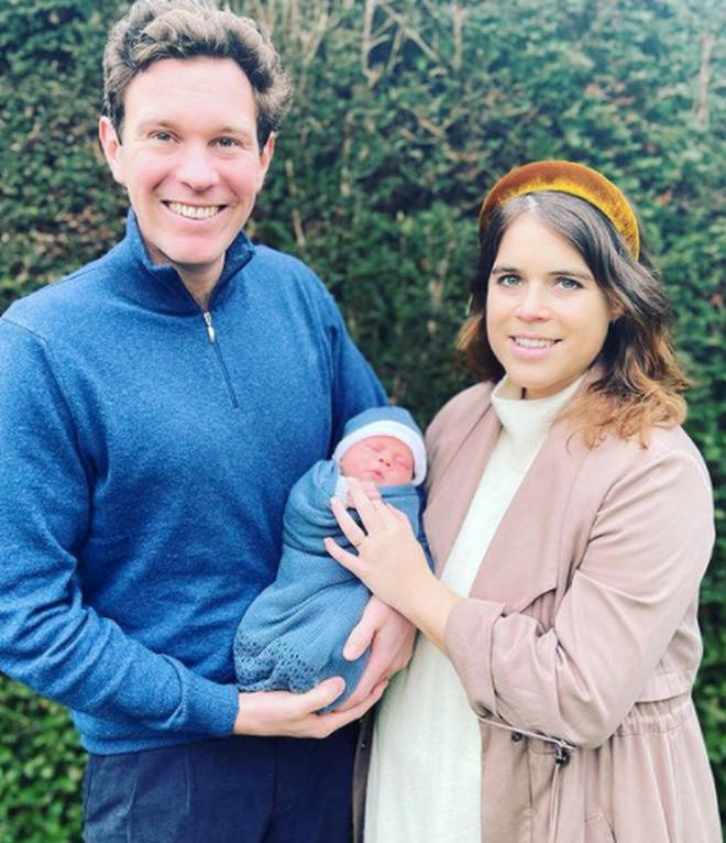Princess Eugenie and Jack Brooksbank welcomed their son in February