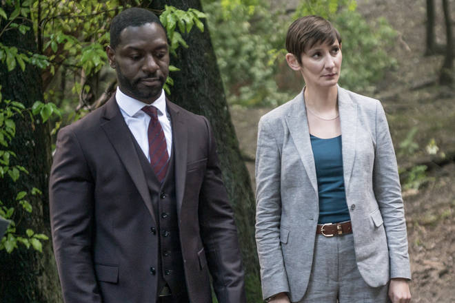 The first episode of Grace aired on ITV this month