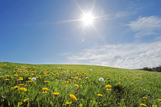 The clocks going forward is a signifier of British Summertime (stock image)