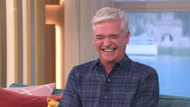 Phillip Schofield couldn't hide his amusement during the This Morning blunder