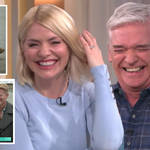 Holly Willoughby and Phillip Schofield in fits of laughter as seal starts urinating on live TV